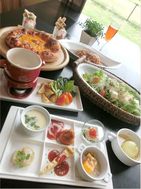 AKARIのプチディナーコース