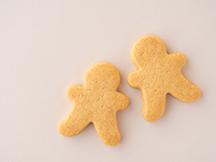 ジンジャーマンのクッキー
